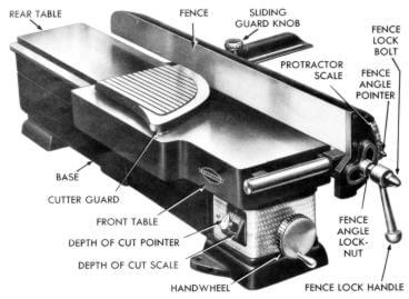 craftsman 6 jointer 103 23320 owner s operator s parts manual rh ozarktoolmanuals com sears craftsman jointer manual craftsman professional jointer manual