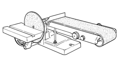 Craftsman 6-inch Belt and Disc Sander Model 113.22541 Instructions and Parts Manual