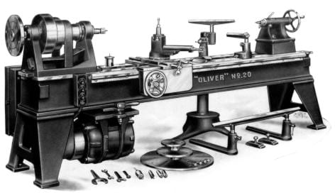 Oliver No 20 A Pattern Makers Wood Turning Lathe Owner S