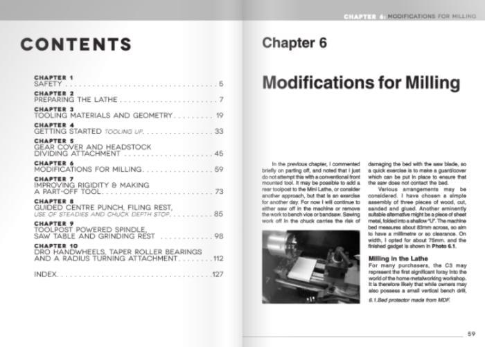 Mini-Lathe for Home Machinists Book