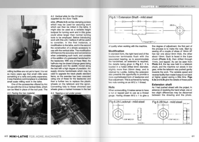 Mini-Lathe for Home Machinists Book