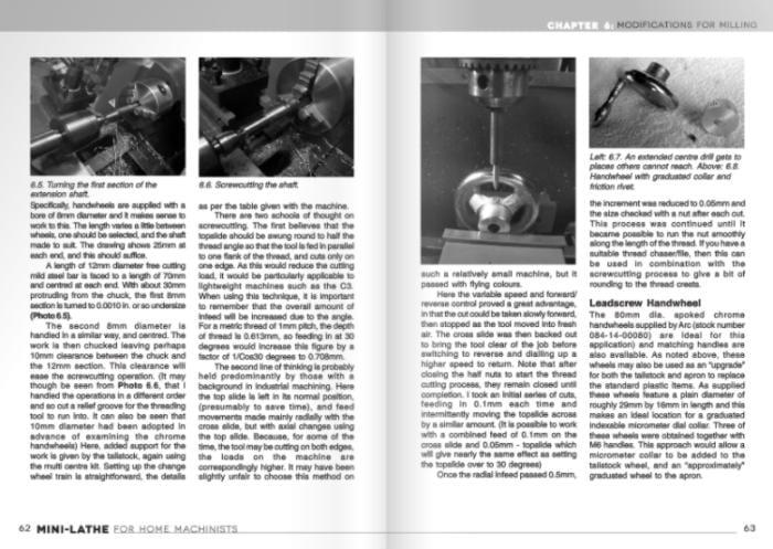 Mini Lathe for Home Machinists Book