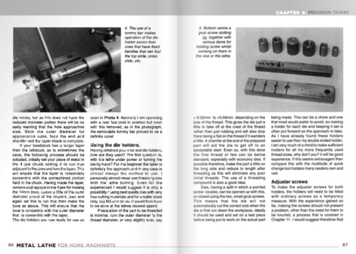Metal Lathe for Home Machinists Book