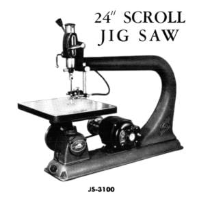 Beaver 3100 Jig Saw Manual