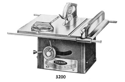 Beaver 3200 saw Manual