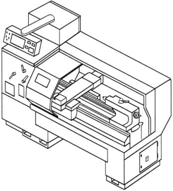 Lathe Parts Diagram