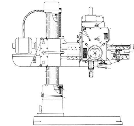 cincinnati gilbert model aa b radial drill operator parts manual this is a reproduction not a photocopy of an original cincinnati gilbert 9″ and 11″ column radial drills models aa and b operations and parts manual
