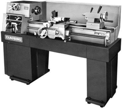 CLAUSING 1300, 1301 Metal Lathe Operator & Parts Manual SH
