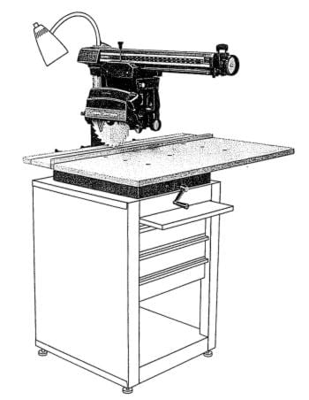 Craftsman 10 radial arm saw owners instructions for 10 craftsman table saw manual