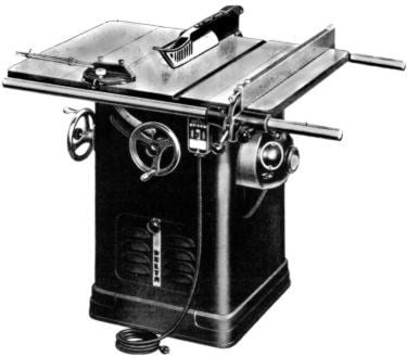 rockwell model 10 table saw manual
