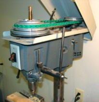 Durodrive link v-belt drill milling machine