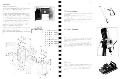 emco emcomat 8 4 8 6 metal lathe with mill manual ozark tool manuals books