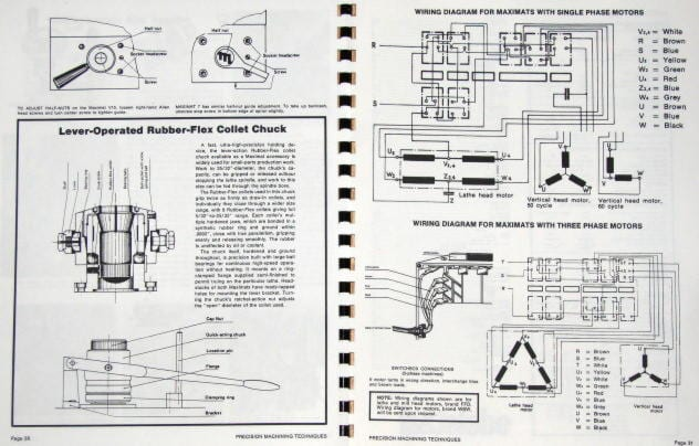 emcov10ind2 emco edelstaal maximat v10 & 7 lathe mill operational & technique leblond regal lathe wiring diagram at fashall.co