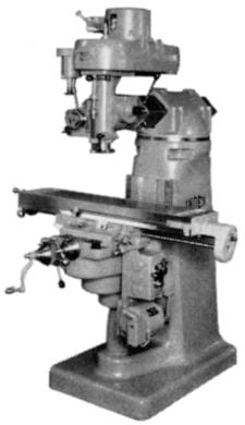 INDEX-Wells 45 Vertical Milling Machine Parts Manual | Ozark Tool Manuals & Books
