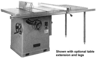 Jet Asian Ctas 12h 12 Quot Tilting Arbor Table Saw Operator S