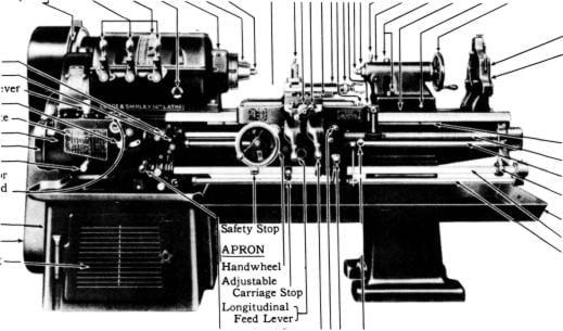 lodge shipley model a 12 14 16 lathe part manual ozark tool rh ozarktoolmanuals com Lodge Shipley Lathe Craigslist Lodge Shipley 25 Lathe Specs