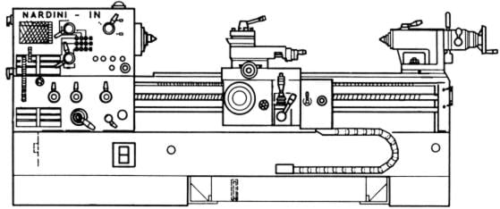 nardini in 2000t 2500t lathe operator u0026 39 s parts manual