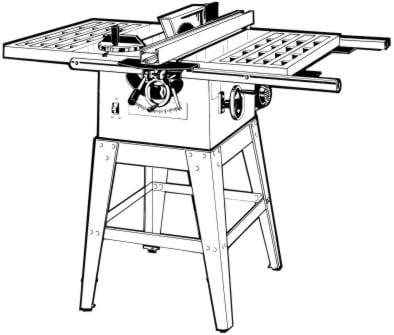 Powermatic 63 10 Quot Artisan S Table Saw Op Part Manual