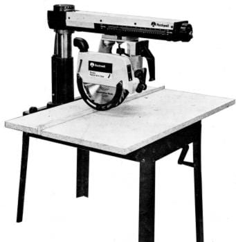 rockwell model 10 12 radial arm saws owners parts manual ozark tool manuals