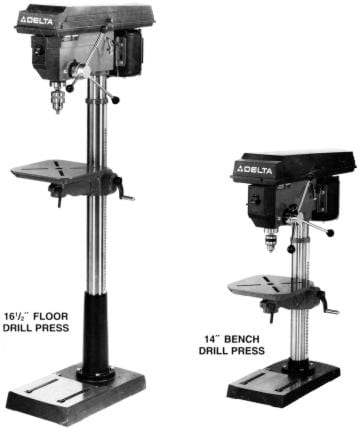 Delta Rockwell 17 900 14 040 165 Drill Press Operators Parts