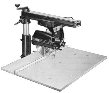 Craftsman 113 29330 9 Quot Radial Arm Saw Operator Amp Parts