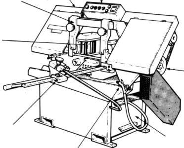 KALAMAZOO-STARTRITE Horizontal Band Saw H250A Service & Parts Manual ...