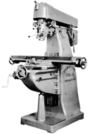 US Burke Vertical Milling Machine