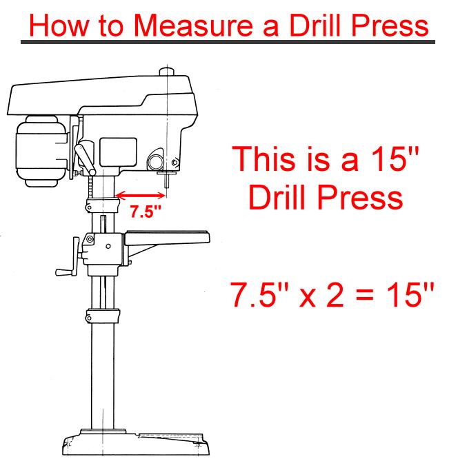 How Do You Measure A Drill Press