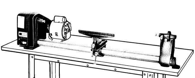 CRAFTSMAN 113.228000 & 113.228160 Wood Lathe Owner's Parts Manual | Ozark Tool Manuals & Books