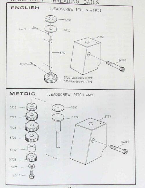 Metal Lathe 13x30 13x40 14x30 14x40 Instruction  U0026 Parts