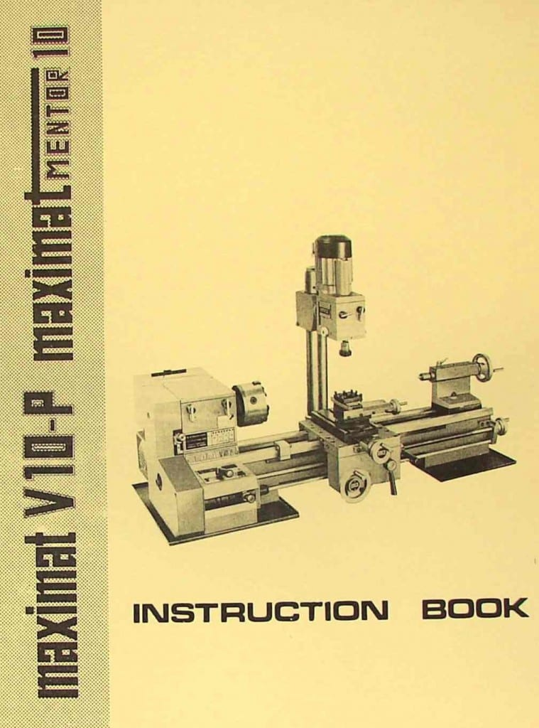 Emco star instruction book