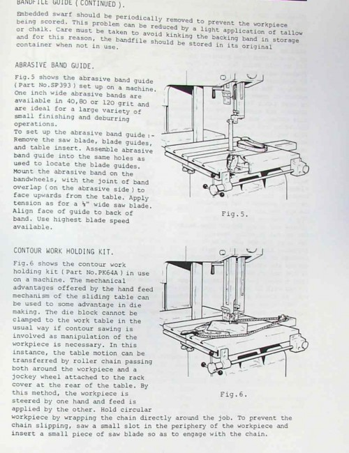 Kalamazoo Startrite Band Saw 216 316 Service Manual