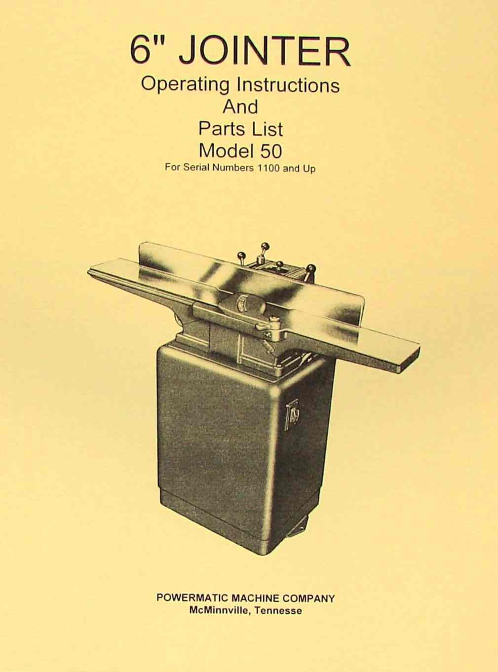 jointer parts