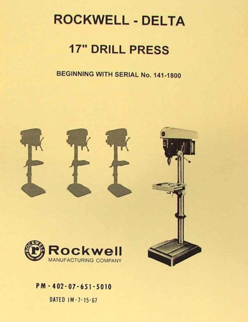 mastercraft 10 drill press manual