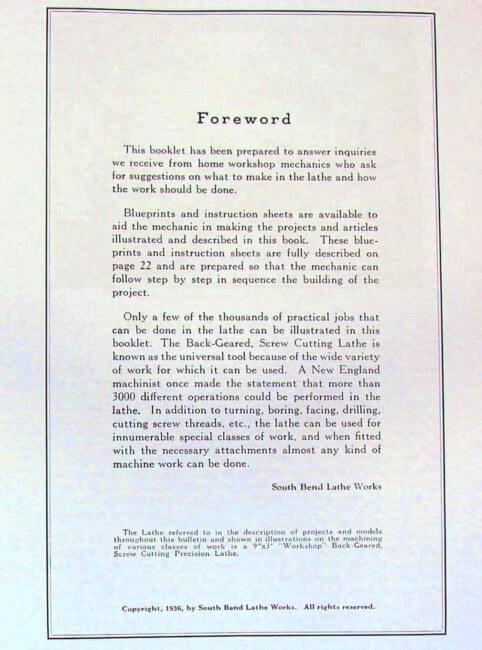 south bend lathe manual pdf
