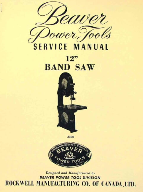 ryobi 9 band saw manual