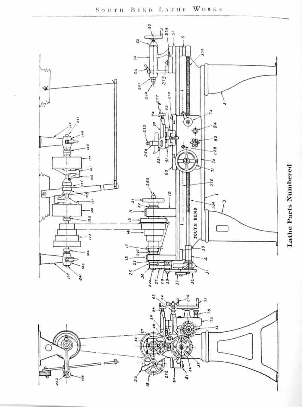 south bend lathe parts diagram   30 wiring diagram images