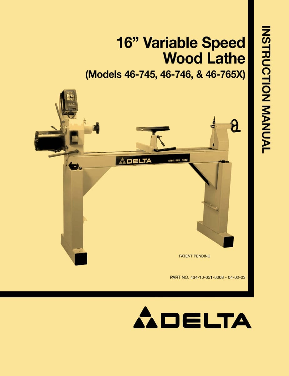 Information Wood Lathe