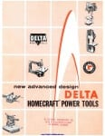 Pages from Delta Homecraft Catalog 1957