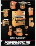 Pages from Powermatic Catalog 1991