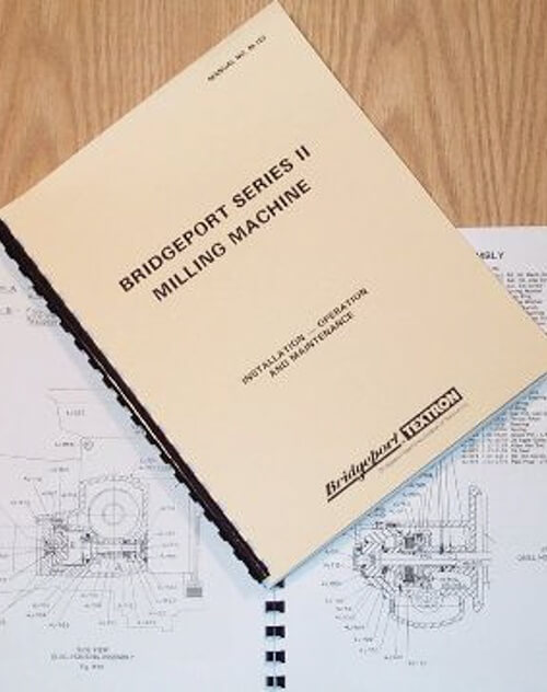 Bridgeport Mill Series Ii Standard 4j Head Operation