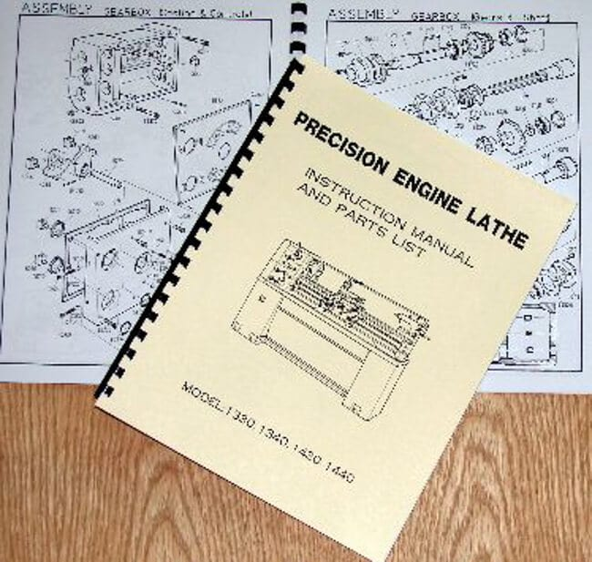 Metal Lathe 13x30 13x40 14x30 14x40 Instruction Parts Manual – Jet Lathe Wiring-diagram