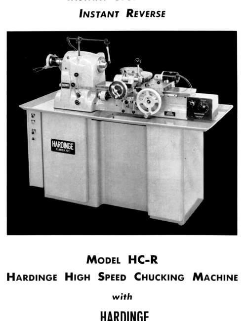 chucking machine