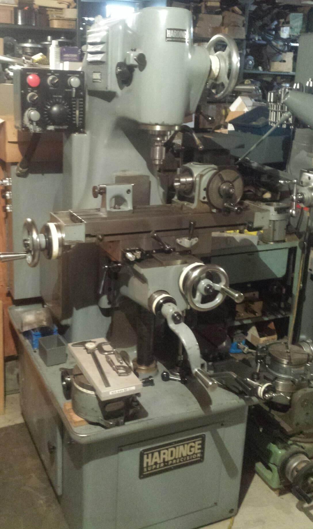 Hardinge Lathe Amp Mill Parts Amp New Manuals Hlv Hc Hct Hc