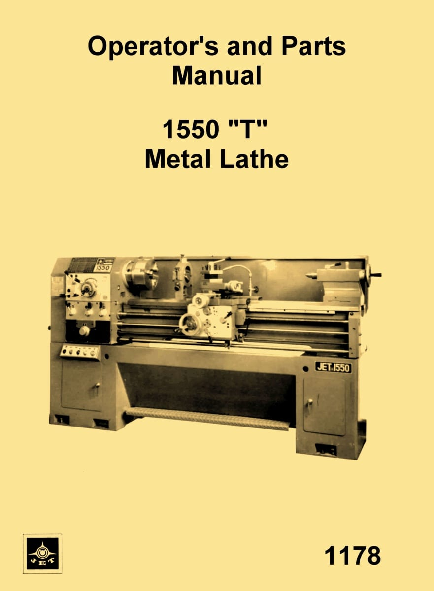 JET Enco MSC Asian 1550 T Metal Lathe Instructions Parts – Jet Lathe Wiring-diagram