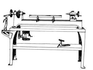 walker-turner-wood-lathe