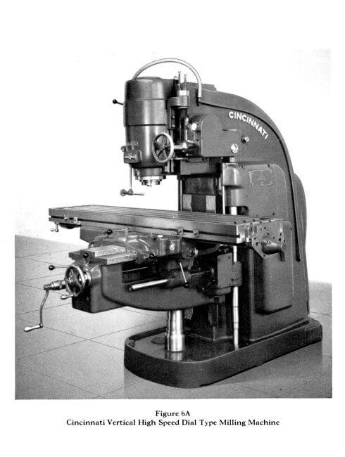 Manual Milling Machine : Cincinnati dial type horizontal vertical milling