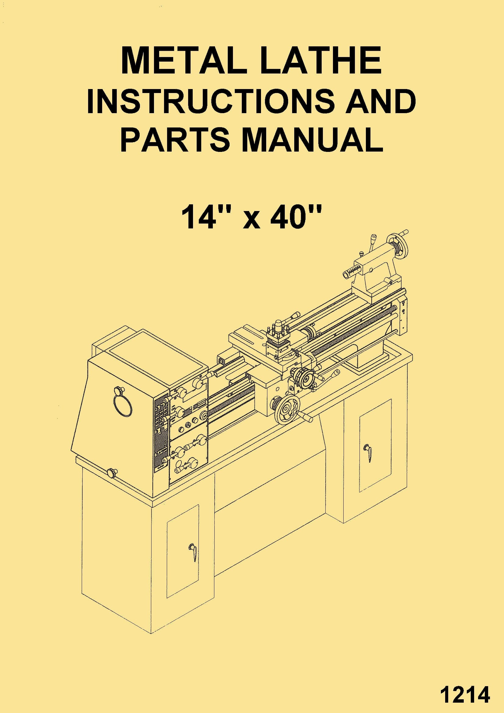 GORTON 1-22 Mastermil Milling Machine Parts Manual 0322