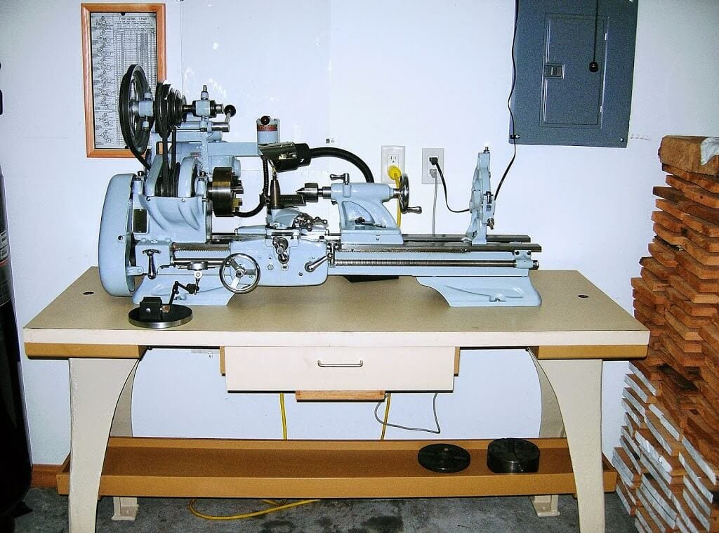 "Machine ID'd: Atlas V42 10"" Metal Lathe Restored 
