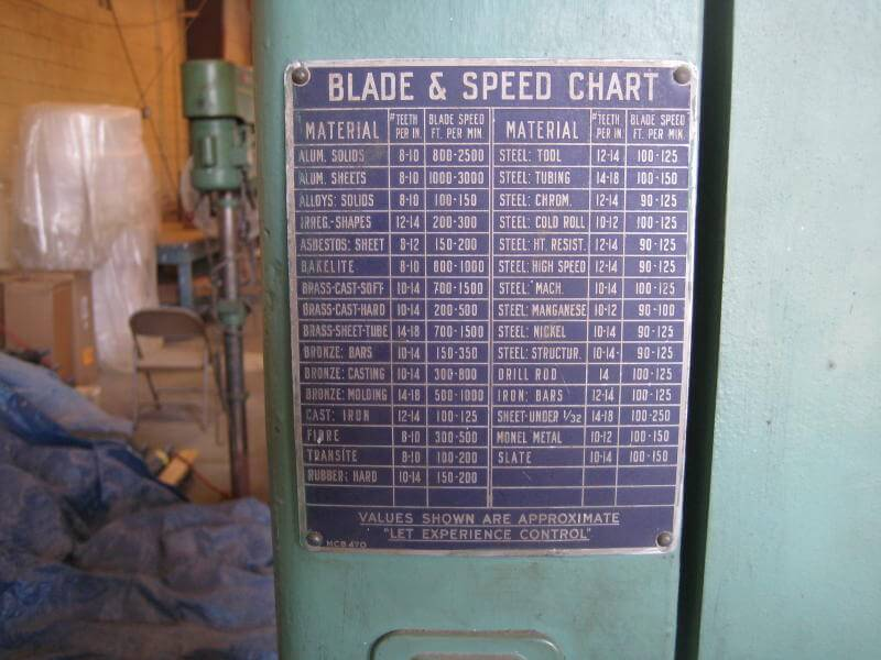 Machine Id D Walker Turner 16 Quot Band Saw Model Mcb1160